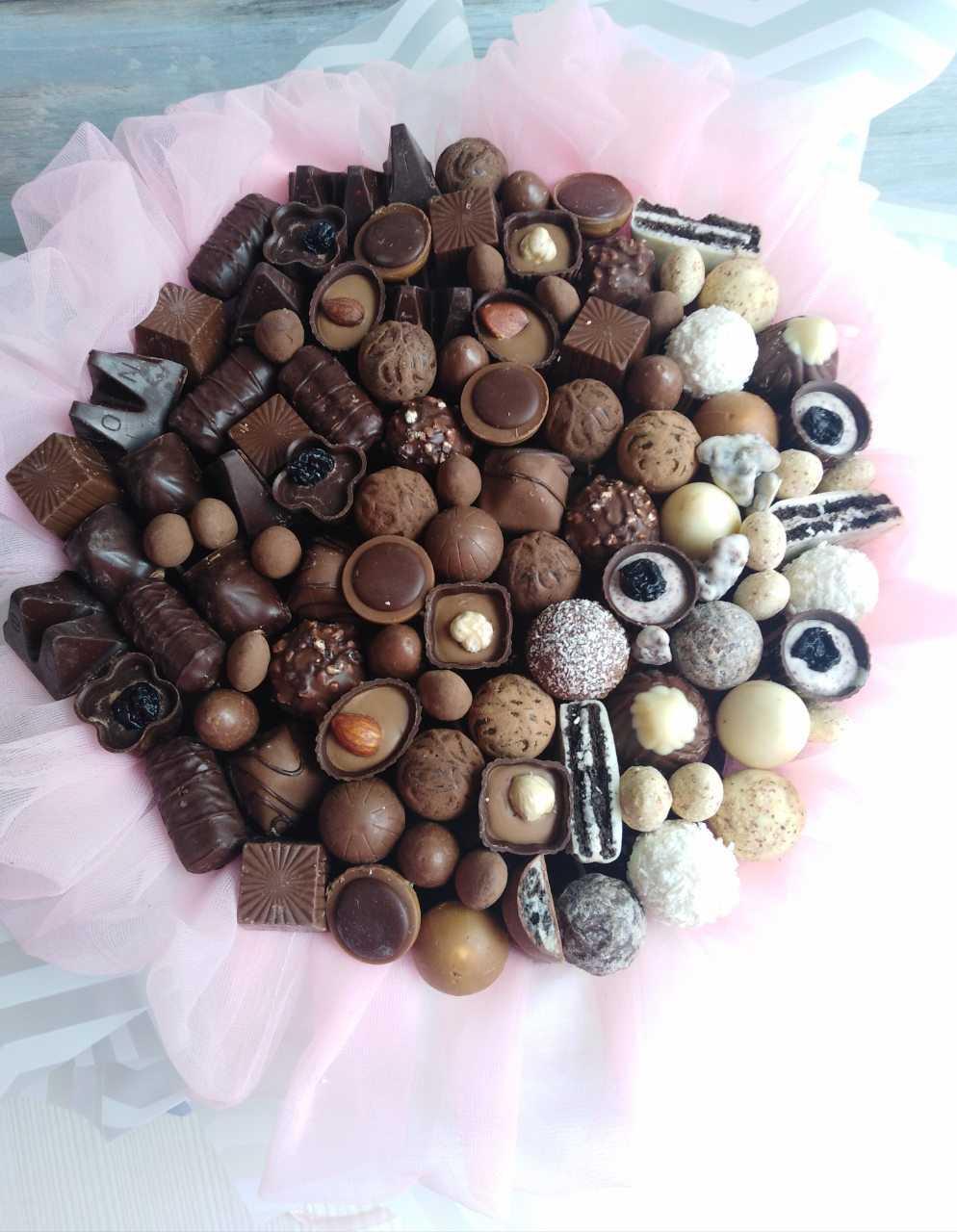 Букет из конфет с доставкой