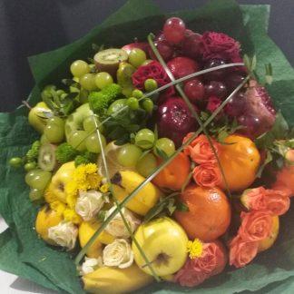 Вкусные фруктовые букеты