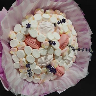 Букет конфет и маршмеллоу