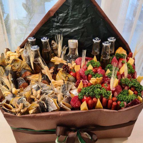 Купить Мужской Букет с рыбой Киев