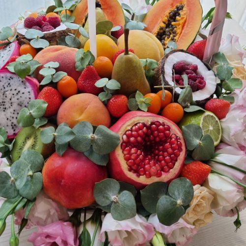 Купить Корзину с экзотическими фруктами